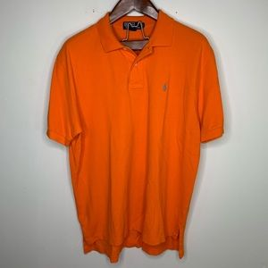 Polo Ralph Lauren Md Orange Regular Fit Polo Shirt